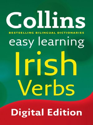 cover image of Collins Easy Learning Irish Verbs