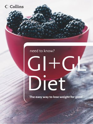 cover image of GI + GL Diet