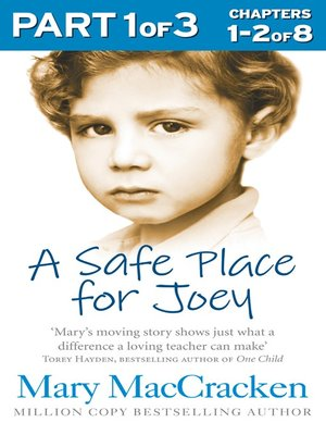 cover image of A Safe Place for Joey, Part 1 of 3