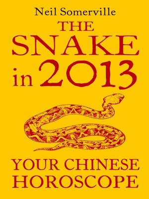 cover image of The Snake in 2013