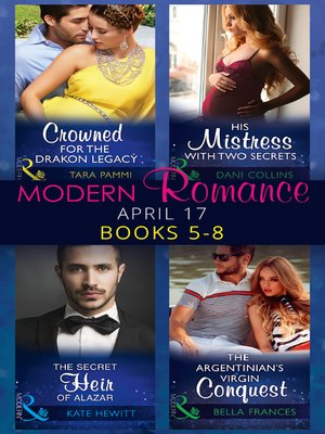 cover image of Modern Romance April 2017 Books 5--8