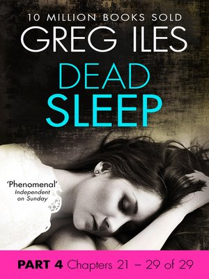 cover image of Dead Sleep, Part 4, Chapters 21 - 29