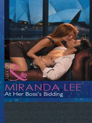 cover image of At Her Boss's Bidding