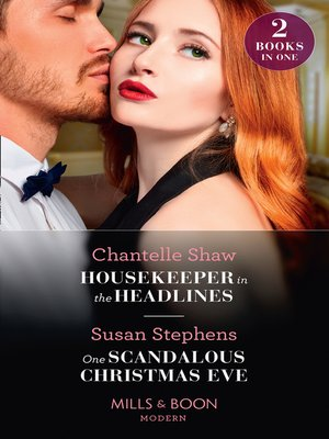 cover image of Housekeeper In the Headlines / One Scandalous Christmas Eve