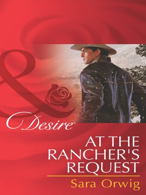 cover image of At the Rancher's Request