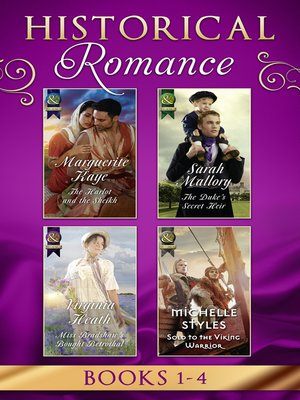 cover image of Historical Romance Books 1--4
