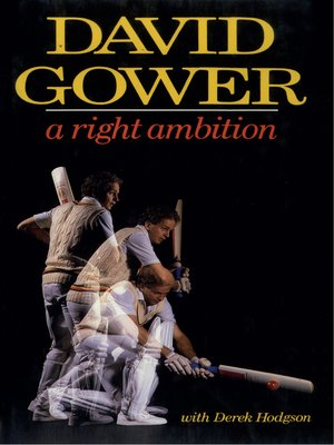 cover image of A Right Ambition