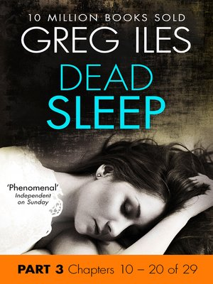 cover image of Dead Sleep, Part 3, Chapters 10 - 20