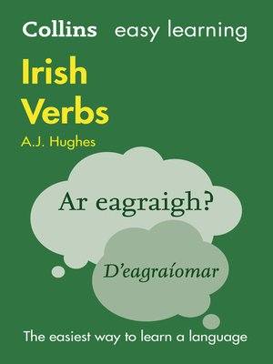 cover image of Easy Learning Irish Verbs