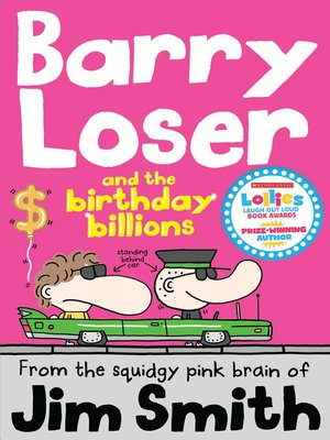cover image of Barry Loser and the Birthday Billions