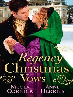 cover image of Regency Christmas Vows