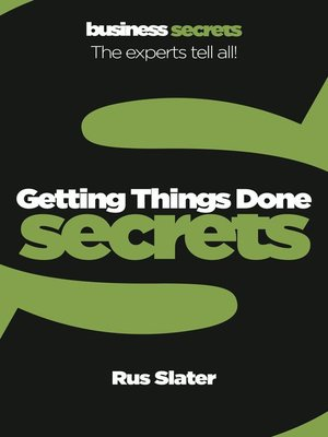 cover image of Getting Things Done