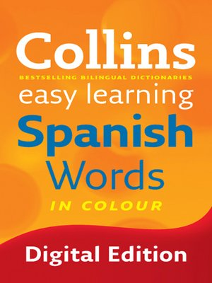 cover image of Collins Easy Learning Spanish Words