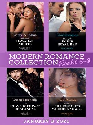 cover image of Modern Romance January 2021 B Books 5-8