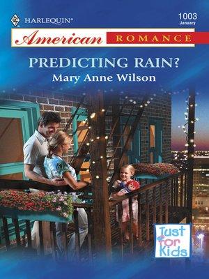 cover image of Predicting Rain?