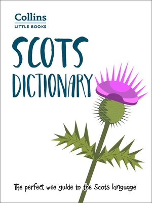 cover image of Scots Dictionary