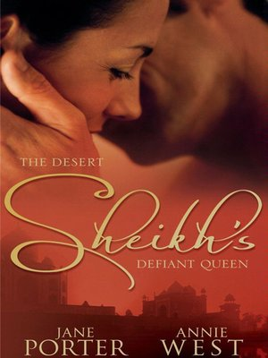 cover image of The Desert Sheikh's Defiant Queen