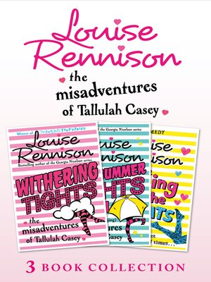 cover image of The Misadventures of Tallulah Casey 3-Book Collection