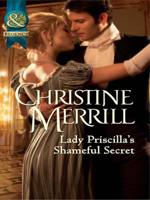 cover image of Lady Priscilla's Shameful Secret