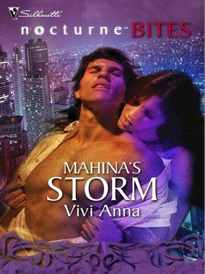 cover image of Mahina's Storm