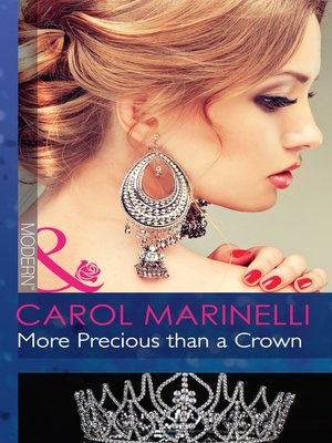 cover image of More Precious than a Crown