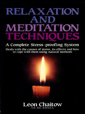 cover image of Relaxation and Meditation Techniques