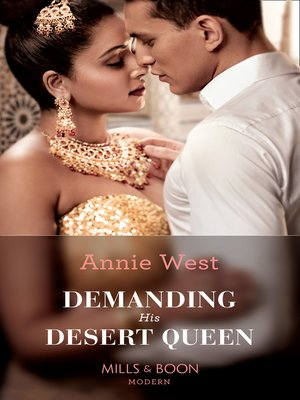 cover image of Demanding His Desert Queen