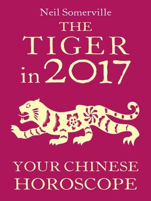 cover image of The Tiger in 2017