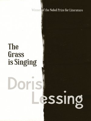 cover image of The Grass is Singing