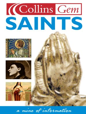 cover image of Saints (Collins Gem)