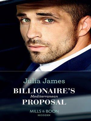 cover image of Billionaire's Mediterranean Proposal