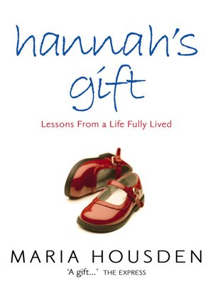 cover image of Hannah's Gift