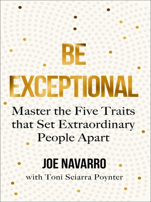 cover image of Be Exceptional
