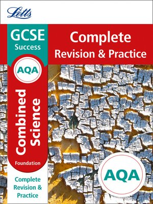 cover image of AQA GCSE 9-1 Combined Science Foundation Complete Revision & Practice