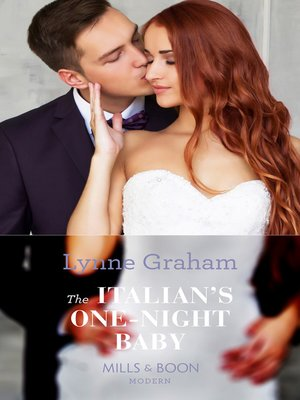 cover image of The Italian's One-Night Baby