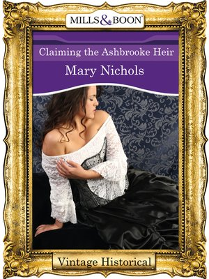 cover image of Claiming the Ashbrooke Heir