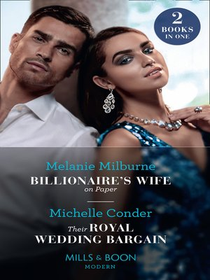 cover image of Billionaire's Wife On Paper / Their Royal Wedding Bargain