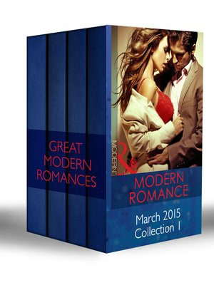 cover image of Modern Romance March 2015 Collection 1