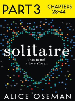 cover image of Solitaire, Part 3 of 3