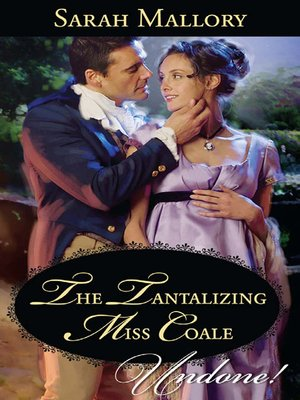 cover image of The Tantalizing Miss Coale