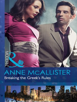cover image of Breaking the Greek's Rules