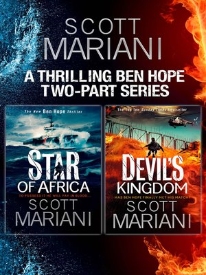 cover image of Scott Mariani 2-book Collection