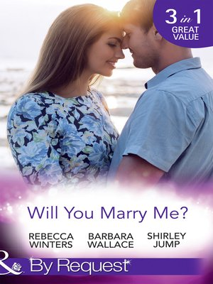cover image of Will You Marry Me?