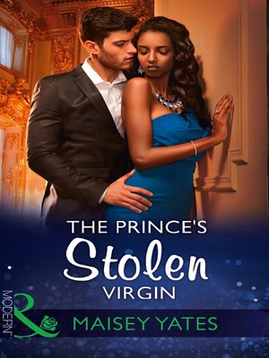 cover image of The Prince's Stolen Virgin