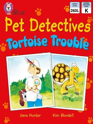 cover image of Collins Big Cat – Pet Detectives