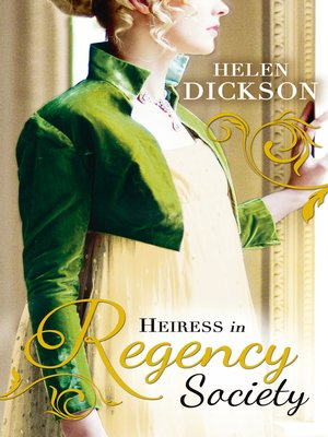 cover image of Heiress in Regency Society