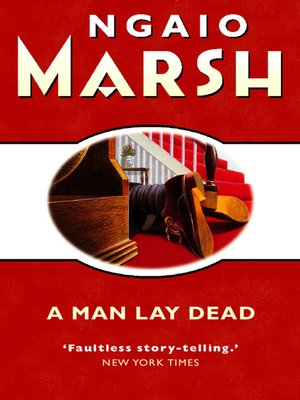 cover image of A Man Lay Dead