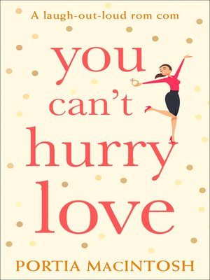 cover image of You Can't Hurry Love