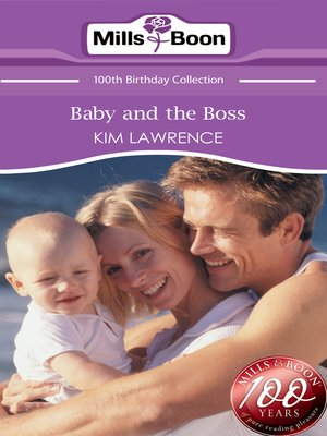 cover image of Baby and the Boss