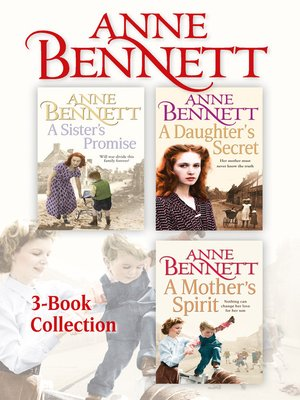 cover image of Anne Bennett 3-Book Collection